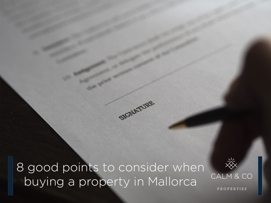 8 good points to consider when buying a property in <strong>[</strong>...<strong>]</strong>
